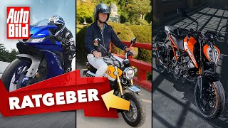 125er-Motorräder Teil 1 (2020): Modelle - Autoführerschein - Leistung - Infos by Auto Bild