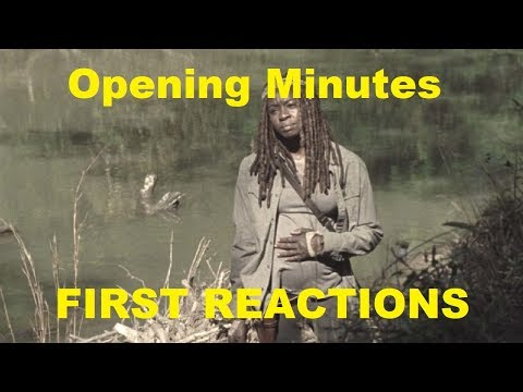 The Walking Dead season 9 Episode 14 - Opening Minutes FIRST REACTIONS