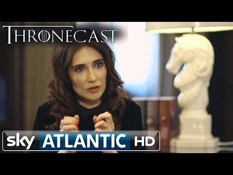 Carice van Houten - Watch the full and extended interview with Game of Thrones star Carice van Houten on this week's Thronecast, on Sky Atlantic HD.