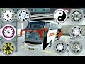 Cara Pasang wheel dop (BUSSID) & Ganti livery secara gratis (BUSSID)