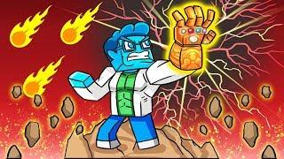 Avengers Infinity War: INFINITY GAUNTLET RETURNS TO ME! (Minecraft Movie)
