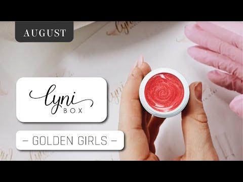 Nageldesign - Lynibox Augsut  Golden Girls