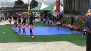 羽黒の夏祭り13・和太鼓とバトン・羽黒児童センター