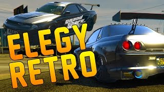 This is all the new customization options and modificatiosn for the new Elegy Retro which is based of the real life Nissan Skyline R32, R33 and R34 a classic tuner  car. See how good this car looks and all the mods for the car as well as a drive about in the new car. Import/export dlc carsJOIN THE BUSH BATTALION!Follow My Twitter to Stay Connected- https://twitter.com/mightybush12Like My Facebook Page and keep updated- https://www.facebook.com/mightybush12Subscribe to my channel- https://www.youtube.com/channel/UC41t_-nxA8_GZfWn6dgn0Og?sub_confirmation=1Thanks for watching the video and please leave your feedback such as likes and comments to support me on YouTube and help me keep a drive for uploading videos for you guys.I upload Call of Duty, Minecraft and GTA 5 Tips and funny gameplays on my channel so remember to subscribe so you don't miss out! I lost a channel that had 15,000 Subscribers and i am working my way back and above that number and back to my 3 million views i had. I need all the support i can get from you guys and every subscriber, like and comment means the world to me so don't forget to do these as these so motivate me each and every day. Stay close guys and lets build this BUSH BATTALION!