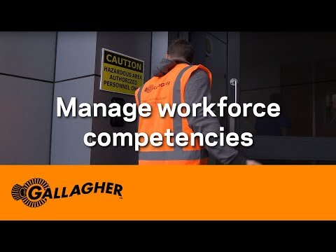 Managing workforce competencies - Risk management