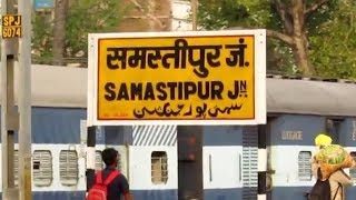 Video SAMASTIPUR JUNCTION Arrival || 12577 BAGMATI EXPRESS !! MP3, 3GP, MP4, WEBM, AVI, FLV Februari 2019