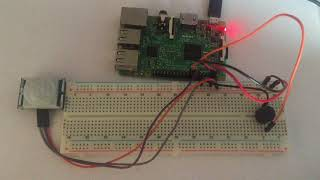 Demonstration video of raspberry pi based simple motion detector alarm project. For complete DIY project with circuit diagram and ...