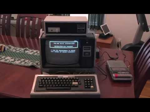 TRS-80 Voice Synthesizer Demo