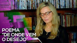 """Bruna lendo um dos poemas do seu livro CLÍMAX """"De Onde Vem o Desejo"""""""