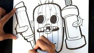 Cómo dibujar un Cactus