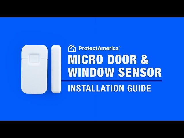 Interlogix Micro Door Window Sensors Protect America