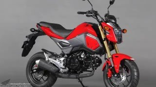 8. 2017 Honda Grom 125 Motorcycle | Changes & Specs Review @ HondaProKevin.com