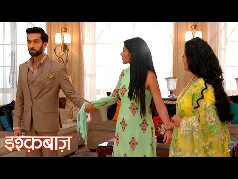 Shivaay FIGHTS With His Mom For Anika | इष्�