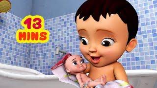 சமத்து பாப்பா ஜோரா குளிச்சாச்சு | Tamil Rhymes for Children | Infobells