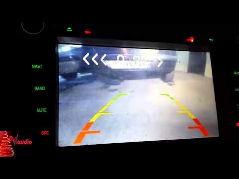 Парковочный радар с поддержкой камеры заднего вида