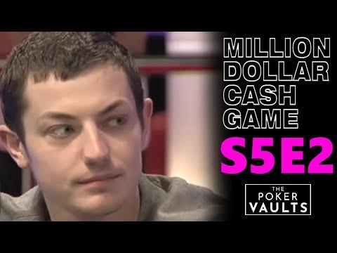 Million Dollar Cash Game S5E2 FULL EPISODE Poker Show