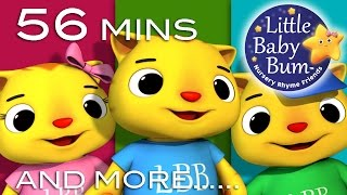 Three Little Kittens | Little Baby Bum | Nursery Rhymes for Babies | Videos for Kids