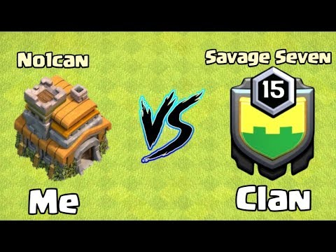 Savage Seven Destroyed by No1can (Asia's First TH7 LEGEND)-Clash of Clans 🔥!!!