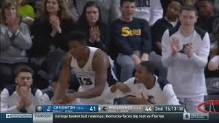 Kyron Cartwright vs. Creighton