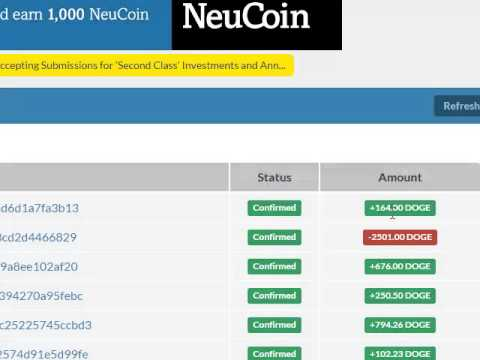 Как увеличить сумму Dogecoin и Bitcoin в 2 раза за 99часов