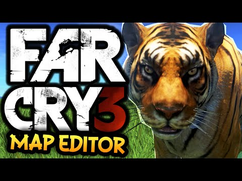 Far Cry 3: Map Editor PC - Funtage! - (FC3 Funny Moments)