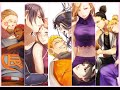 Naruto Canon Couples And Their Children (I Need Your Love)