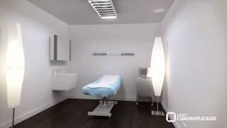Video 3d para empresa de estetica, donde mostramos la construcción de una de sus franquicias.