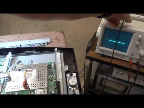 Troubleshooting No Video LCD TV Sony Samsung Panasonic Toshiba Vizio LG Repair Fix