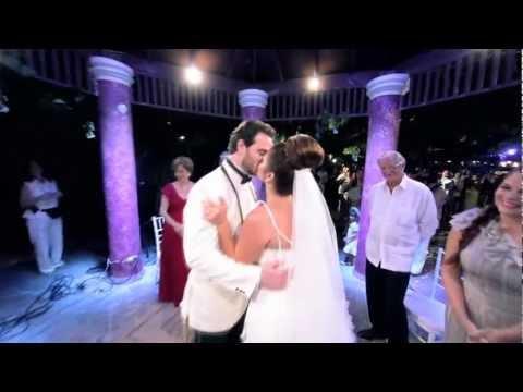 Techy Fatule & David Fernández Wedding MUSICAL VIDEO SDE (Best Wedding Film ever!) Gettin' Over You