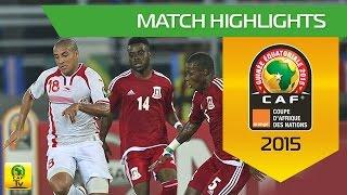 Tunisia - Equatorial Guinea (1-2)  Résumé du match - Quart de finale  Match highlights - Quarter Final Orange Africa Cup of...