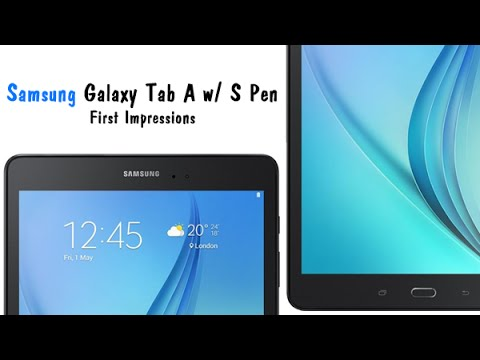 Samsung Galaxy Tab A with S Pen - First Impressions​​​ | H2TechVideos​​​