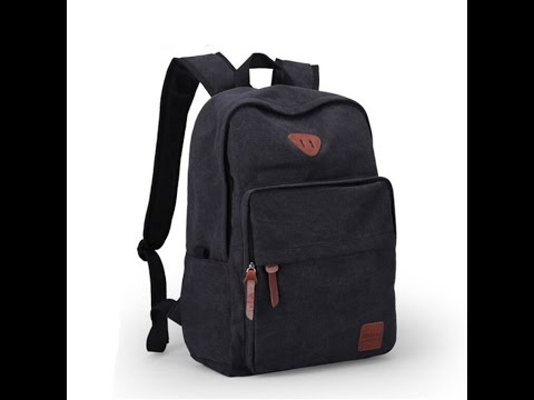 Ibagbar Muzee Vintage Canvas Backpack and Laptop Bag Review