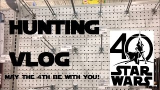 Video May 4th Star Wars Day - 40th Anniversary Black Series Hunt! - VLOG #2 MP3, 3GP, MP4, WEBM, AVI, FLV Juni 2018