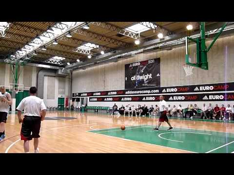 Davis Bertans adidas Eurocamp workout