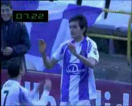 Joseba Llorente (fastest Liga goal ever) 7 seconds!!