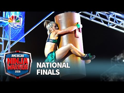 Supergirl Stuntwoman Becomes 1st Female To Complete American Ninja Warrior Stage