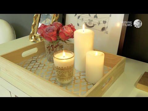 Westwing Tutorial | Decorare un vassoio con la carta adesiva