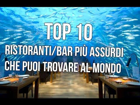 classifica dei 10 ristoranti/bar più assurdi che puoi trovare nel mondo