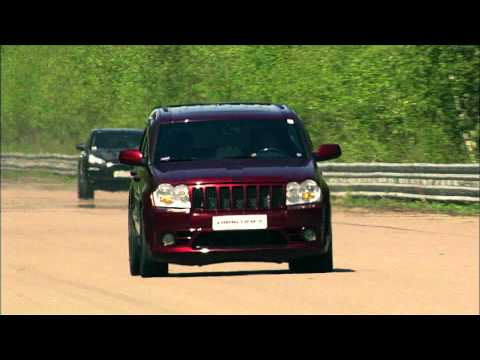 Jeep Srt-8 Vs Ford Mustang Vs Porsche 911 Turbo Vs Porsche Cayenne Vs Bmw X6m