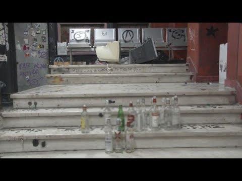 Έρευνα σε υπό κατάληψη χώρους του Οικονομικού Πανεπιστημίου Αθηνών
