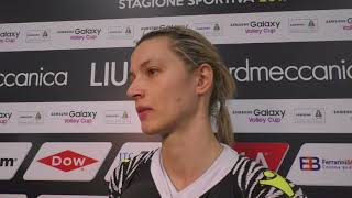 Liu Jo Nordmeccanica Modena-Igor Novara 0-3, le parole di Barun