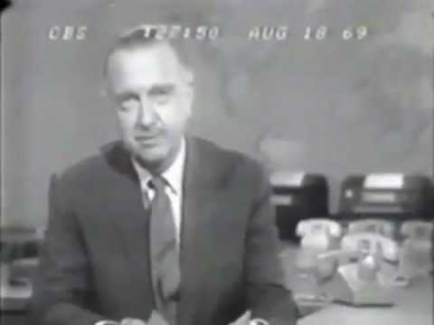 1969 - CBS News coverage of WoodStock from August 18, 1969. With commercials and a commentary from a really hip guy.