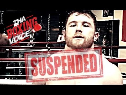 BREAKING NEWS: CANELO ALVAREZ Has Been Temporarily Suspended, GGG Rematch IN JEOPARDY? (видео)