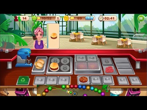 Cooking Talent - Restaurant Fever Level 1-2-3 - Android GamePlay HD