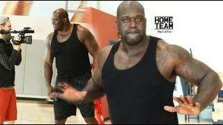 Shaquille O'Neal 1 on 1 Game/Shootout with (Pro Trainer) James Hunt after a O'Neal Family workout. Episode coming soon.