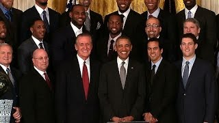Nonton President Obama Honors the 2013 NBA Champion Miami Heat Film Subtitle Indonesia Streaming Movie Download