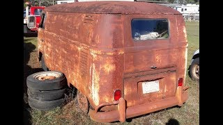 FIRST OVERHAUL IN OVER 40 YEARS!!! RESTORATION!!! Engine Rebuild!!! VW Kombi Owl =) Rusty!!!