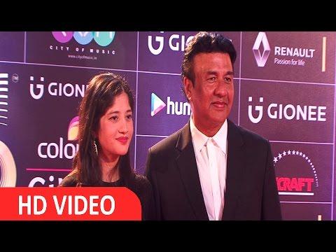 Anu Malik & Anmol Malik At Red Carpet Of GIMA Awards