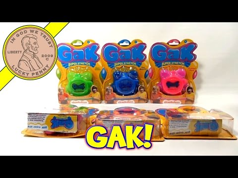 gak - Find this item: http://www.luckypennyshop.com/nickelodeon-gak-update.htm ** Watch our product feature video for GAK Super Stretch & Mega Pak (Update Video...