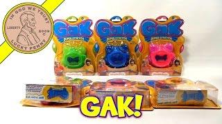 GAK Super Stretch & Mega Pak (Update Video - Fresh GAK Paks), Nickelodeon Toys